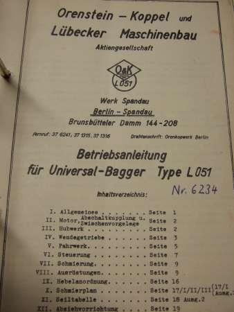 HERBERT METZENDORFF Amp CO KG Various Manuals And Spare